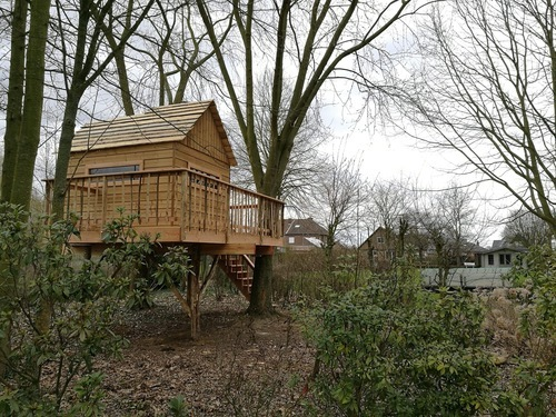 House@tree - Boomhut Lebeke