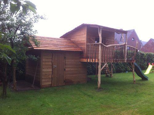 House@tree - Boomhut en tuinhuis Hamond